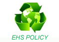 ENVIRONMENT, OCCUPATIONAL HEALTH & SAFETY (EHS) POLICY